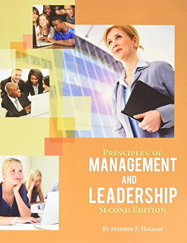 Principles of Management and Leadership (Preliminary Second Edition)  2nd 2014 edition cover