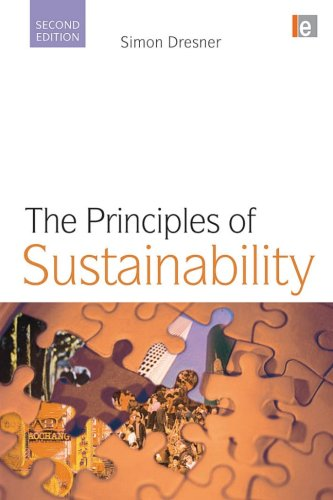 Principles of Sustainability  2nd 2008 (Revised) edition cover
