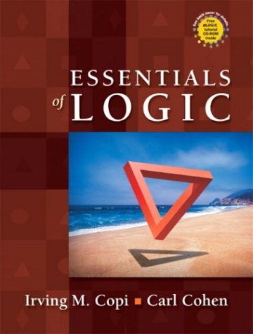 Essentials of Logic   2004 9780130497970 Front Cover