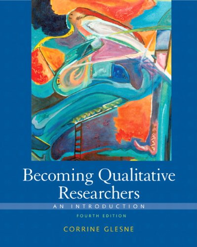 Becoming Qualitative Researchers An Introduction 4th 2011 edition cover