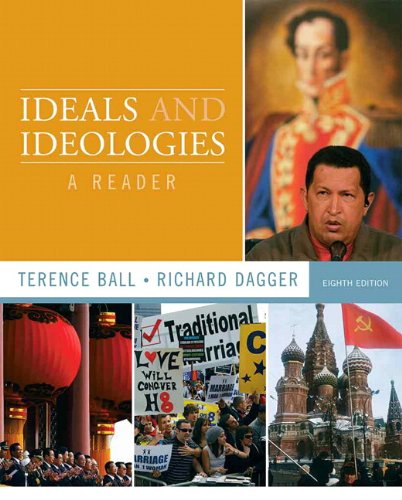 Ideals and Ideologies A Reader 8th 2011 edition cover