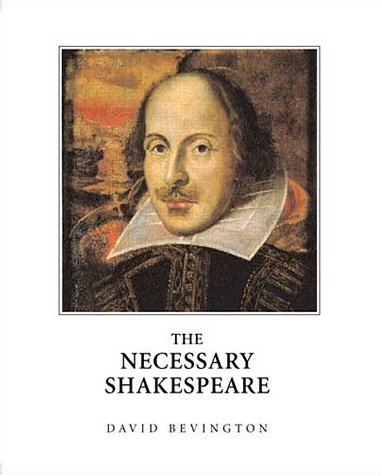 Necessary Shakespeare   2002 edition cover