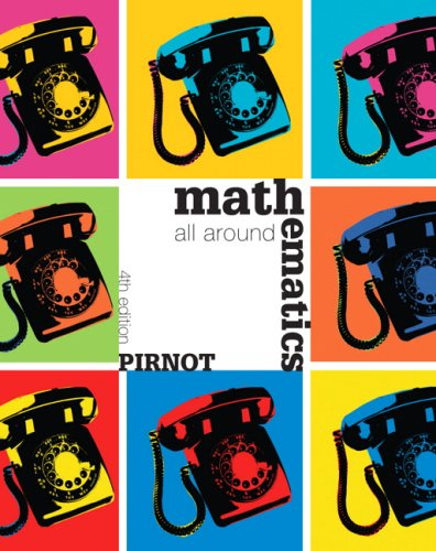 Mathematics All Around  4th 2010 edition cover