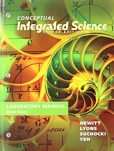 Lab Manual for Conceptual Integrated Science  2nd 2013 edition cover