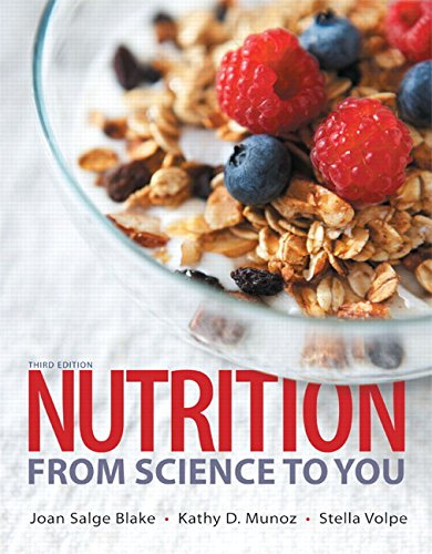 Nutrition + Masteringnutrition With Mydietanalysis With Etext Access Card: From Science to You  2015 edition cover