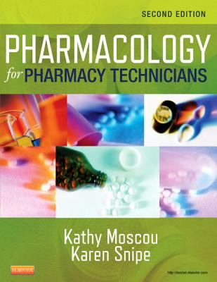 Pharmacology for Pharmacy Technicians  2nd 2013 edition cover