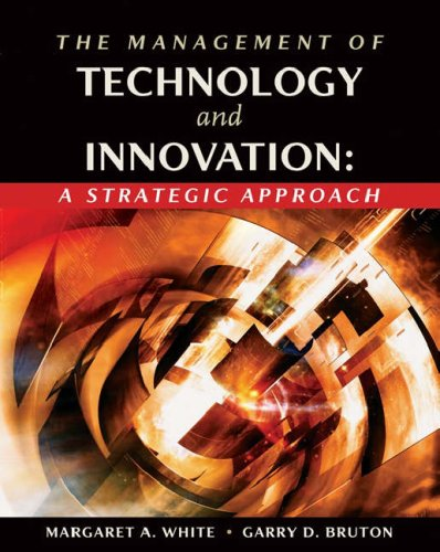 Management of Technology and Innovation A Strategic Approach  2007 edition cover