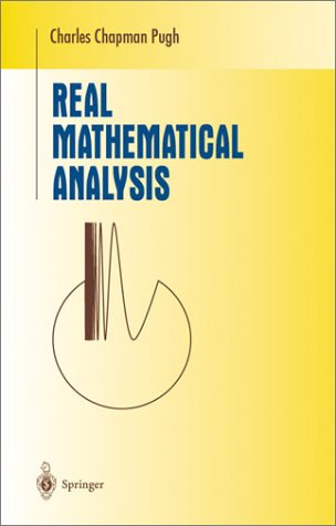 Real Mathematical Analysis   2002 edition cover