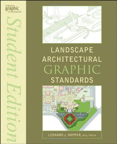 Landscape Architectural Graphic Standards   2008 (Student Manual, Study Guide, etc.) edition cover