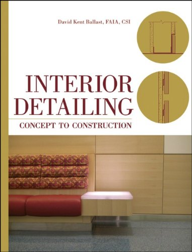 Interior Detailing Concept to Construction  2010 edition cover