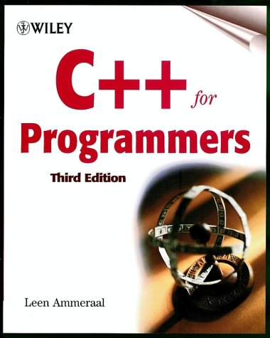 C++ for Programmers  3rd 2000 (Revised) 9780471606970 Front Cover