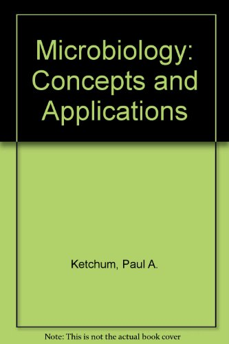 Microbiology Concepts and Applications  1986 9780471888970 Front Cover