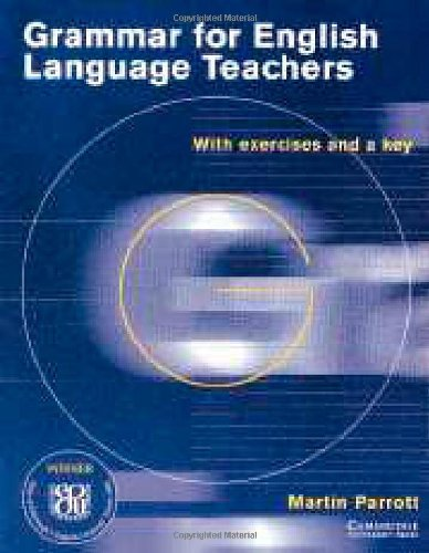 Grammar for English Language Teachers   1999 (Teachers Edition, Instructors Manual, etc.) edition cover