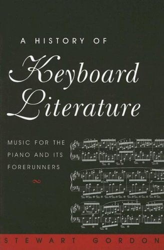 History of Keyboard Literature Music for the Piano and Its Forerunners  1996 edition cover