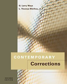 Contemporary Corrections  2nd 2002 9780534561970 Front Cover