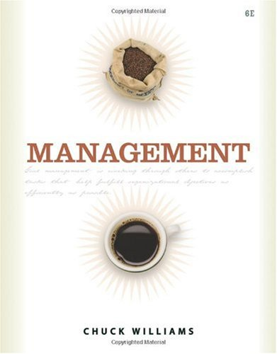 Management  6th 2011 edition cover