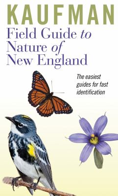 Kaufman Field Guide to Nature of New England   2012 edition cover