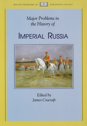 Major Problems in the History of Imperial Russia  1st 1994 edition cover