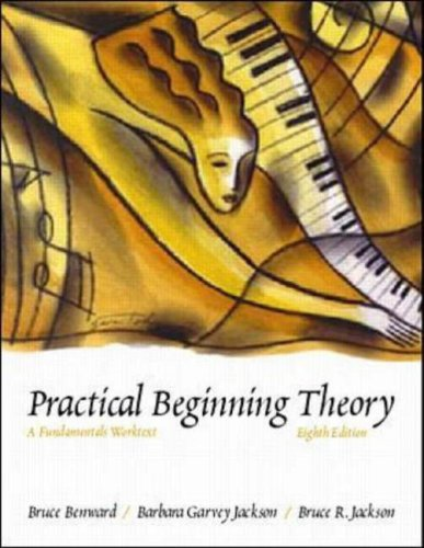 Practical Beginning Theory A Fundamentals Worktext 8th 2000 (Revised) edition cover