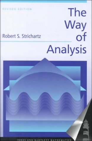 Way of Analysis   2000 (Revised) edition cover