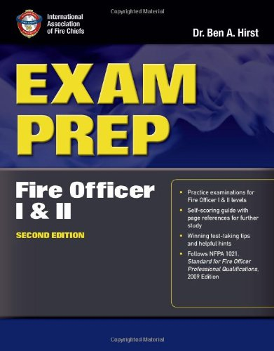Fire Officer I and II  2nd 2012 (Revised) 9780763785970 Front Cover