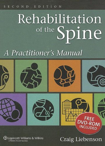 Rehabilitation of the Spine A Practitioner's Manual 2nd 2007 (Revised) edition cover