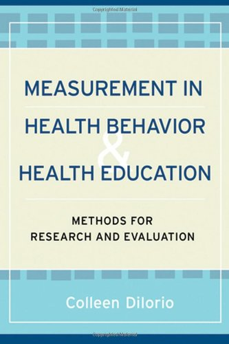 Measurement in Health Behavior Methods for Research and Evaluation  2005 edition cover