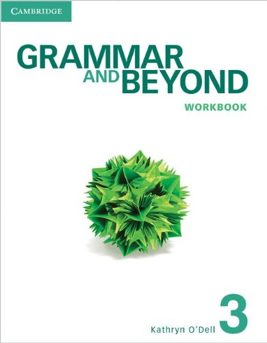 Grammar and Beyond Level 3 Workbook   2012 edition cover