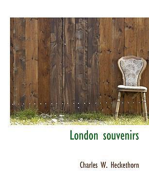 London Souvenirs  N/A 9781115310970 Front Cover