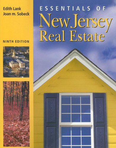 Essentials of New Jersey Real Estate  9th 2006 (Revised) edition cover