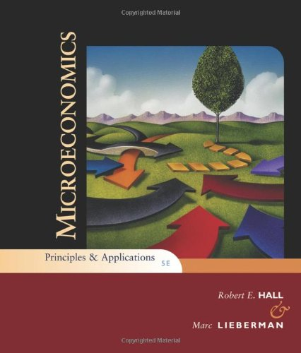 Microeconomics Principles and Applications 5th 2010 edition cover