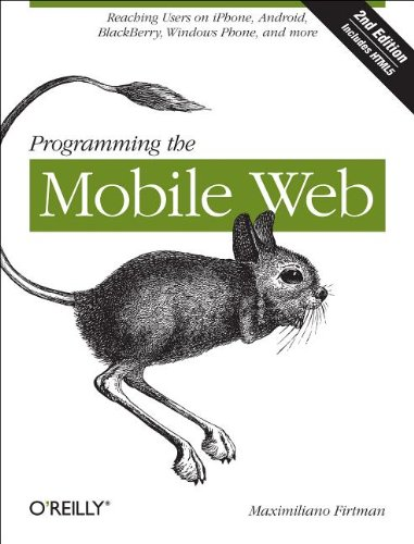 Programming the Mobile Web  2nd 2012 edition cover