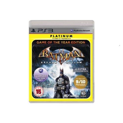 Batman: Arkham Asylum (PS3) PlayStation 3 artwork