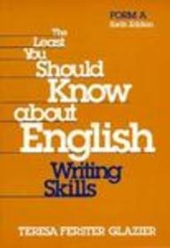Least You Should Know about English Writing Skills 6th 1998 edition cover