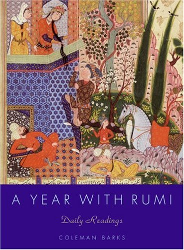 Year with Rumi Daily Readings  2006 edition cover