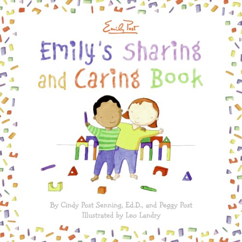 Emily's Sharing and Caring Book   2008 9780061116971 Front Cover