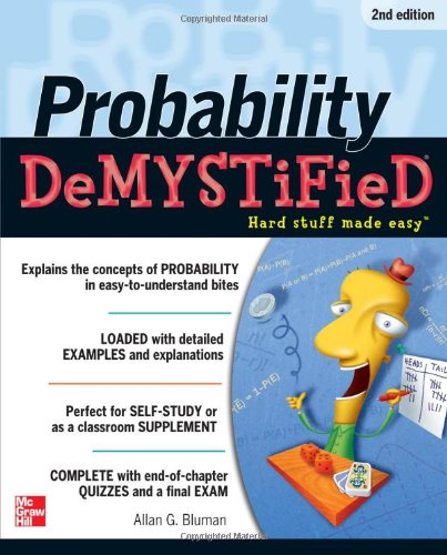Probability Hard Stuff Made Easy 2nd 2012 edition cover
