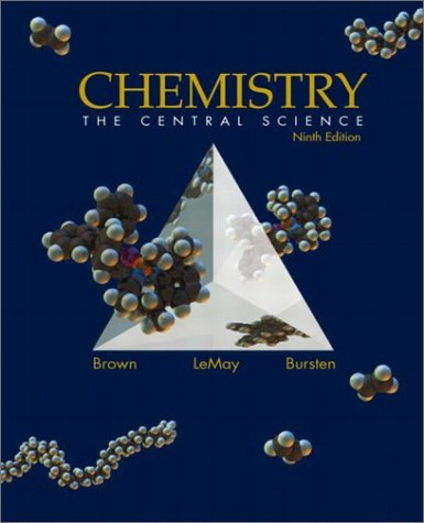 Chemistry The Central Science 9th 2003 edition cover