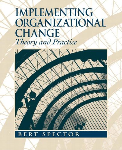 Implementing Organizational Change Theory into Practice  2007 edition cover