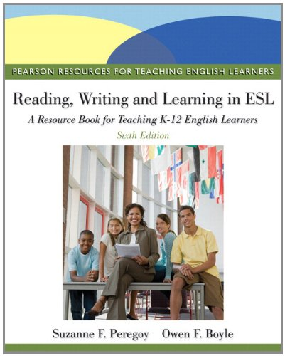 Reading, Writing, and Learning in ESL A Resource Book, Student Value Edition 6th 2013 edition cover