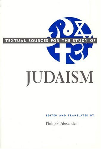 Textual Sources for the Study of Judaism  N/A edition cover
