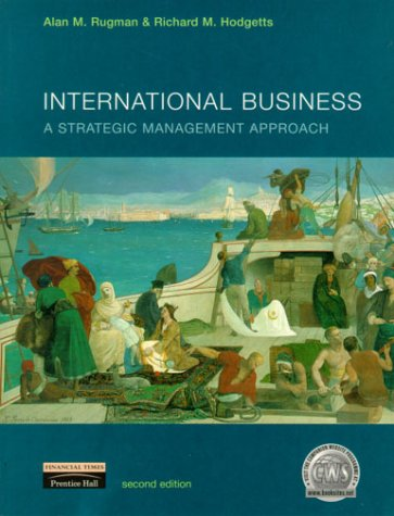 International Business A Strategic Management Approach 2nd 2000 9780273638971 Front Cover