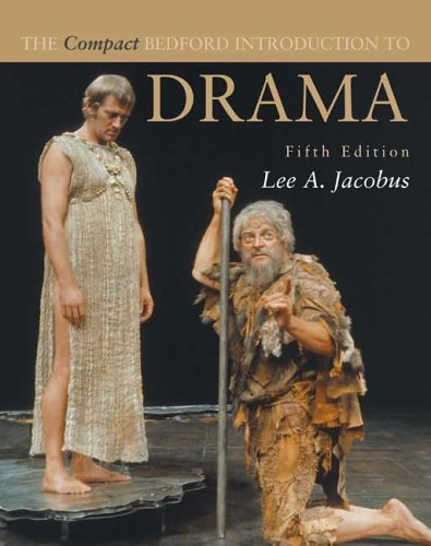Compact Bedford Introduction to Drama  5th 2005 edition cover