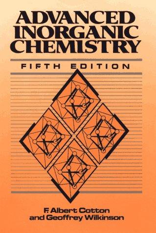 Advanced Inorganic Chemistry  5th 1988 edition cover