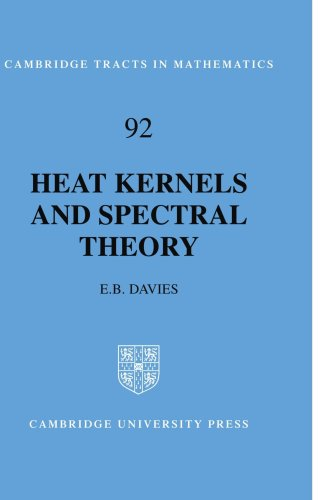 Heat Kernels and Spectral Theory  N/A 9780521409971 Front Cover