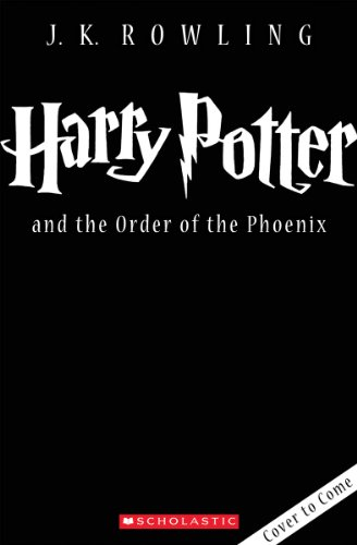 Harry Potter and the Order of the Phoenix:   2013 edition cover