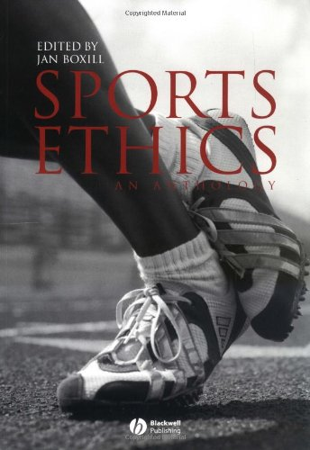 Sports Ethics An Anthology  2002 edition cover