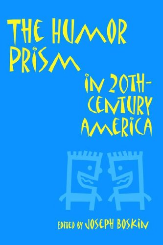 Humor Prism in 20th Century American Society   1997 edition cover