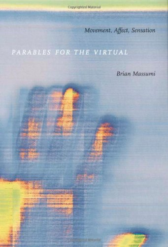 Parables for the Virtual Movement, Affect, Sensation  2002 edition cover