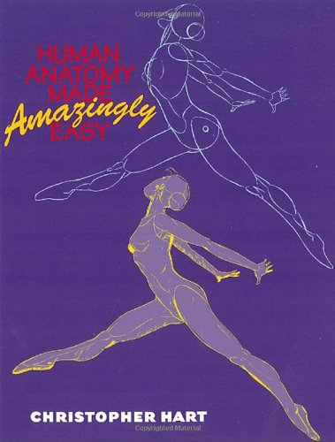 Human Anatomy Made Amazingly Easy   2000 edition cover